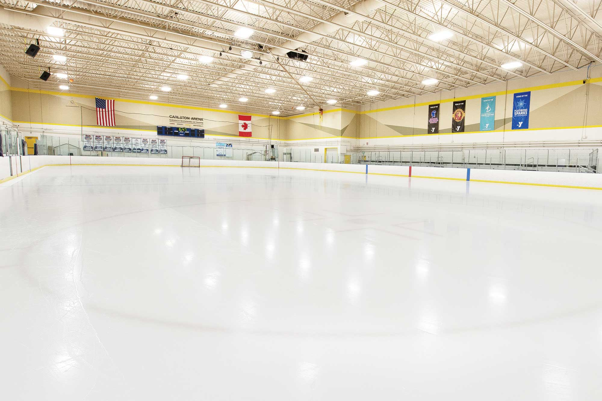 Ice rink at the Arapahoe YMCA