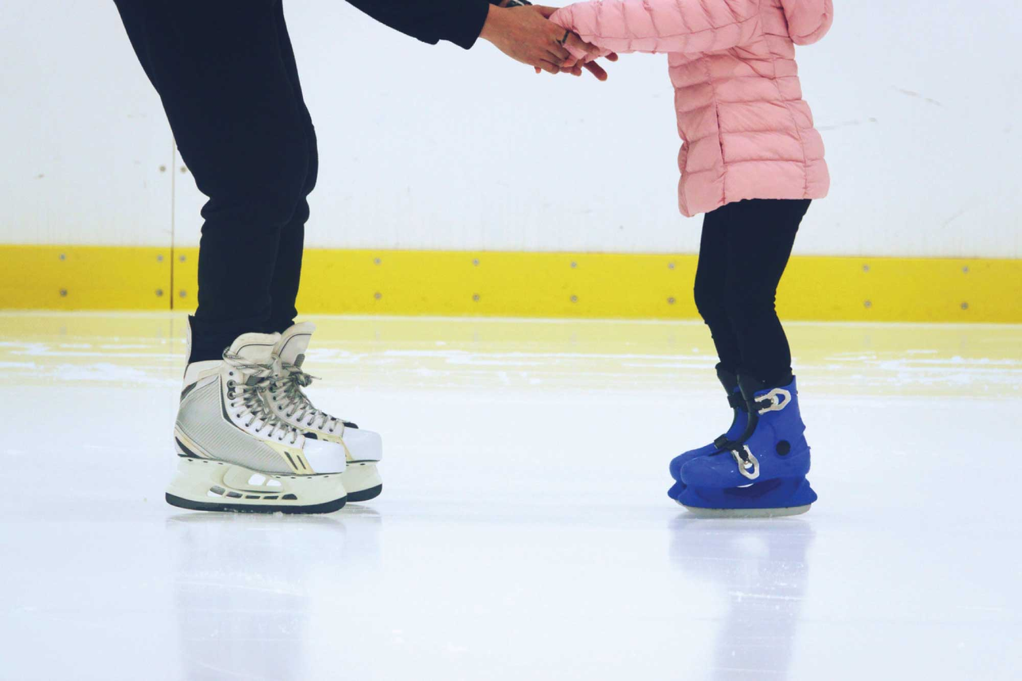 learn to skate class at the ymca