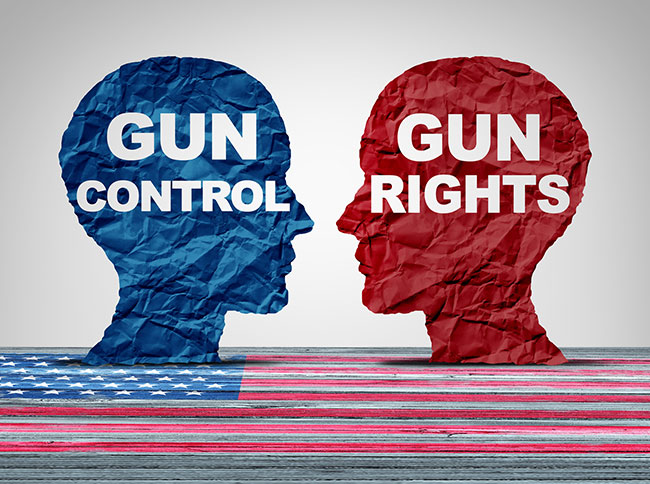 Gun control versus gun rights