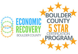 Boulder County 5 star certified