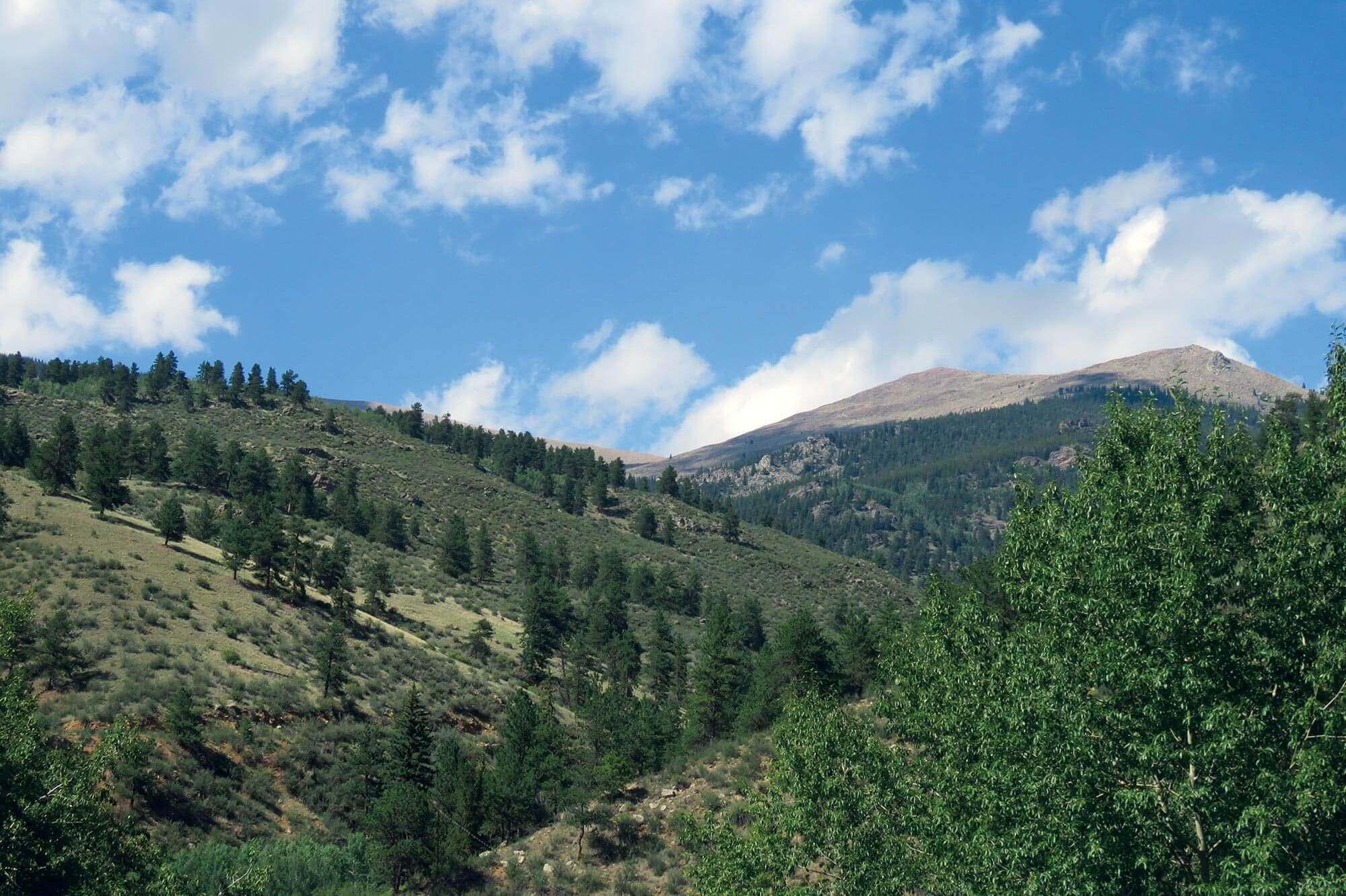 mountain view at camp santa maria
