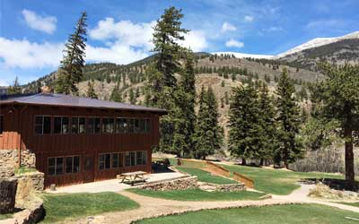 dining hall and crafts building camp santa maria