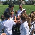 Jeff Rozic coaches youth soccer through the Y