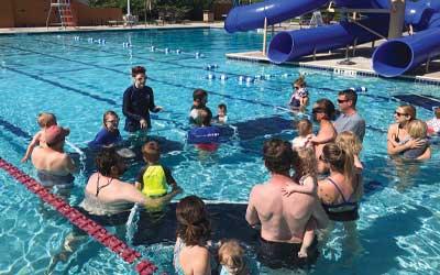 swim lessons at the arapahoe ymca