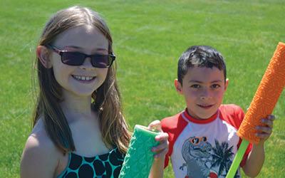 kids at ymca camp in loveland