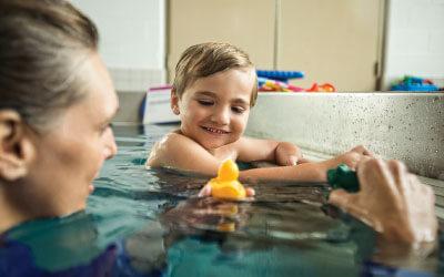 preschool swim lesson