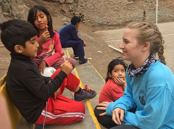 Teens find perspective during service trips