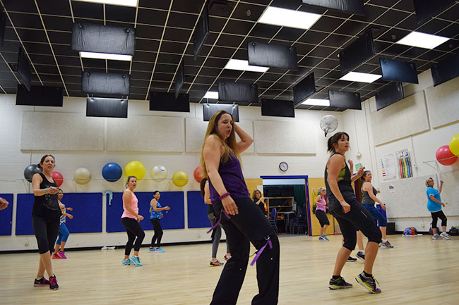 Try our Zumba classes at the YMCA