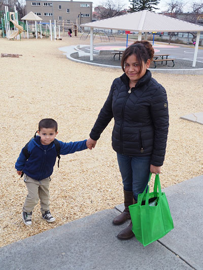 Kids get nutrition from BVSD's Weekend Bag Program